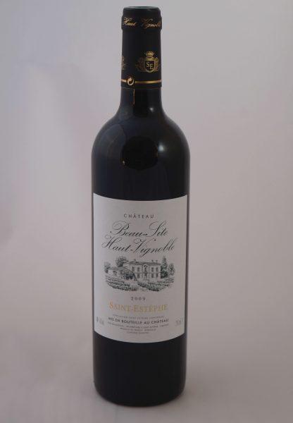 vin-saint-estephe-chateau-beau-site-haut-vignoble2009
