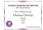 silver-medal-chateau-cherchy2014-la